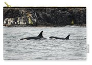 Orcas In The Salish Sea Carry-all Pouch