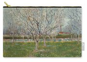 Orchard In Blossom Plum Trees Carry-all Pouch