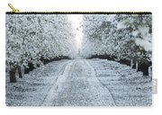 Orchard In White Carry-all Pouch