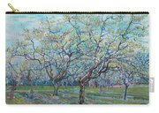 Orchard With Blossoming Plum Trees   Carry-all Pouch