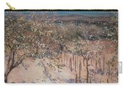 Orchard With Flowering Apple Trees Carry-all Pouch