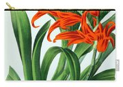 Orchid, Ada Aurantiaca, 1880 Carry-all Pouch