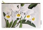 Orchid, C. Eldorado Virginalis, 1891 Carry-all Pouch