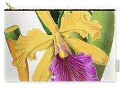 Orchid, Cattleya Dowiana, 1880 Carry-all Pouch
