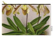 Orchid, Cypripedium Arthurianum,1891 Carry-all Pouch