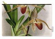 Orchid, Cypripedium Elliottianum, 1891 Carry-all Pouch