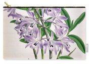 Orchid, Dendrobium Transparens, 1891 Carry-all Pouch