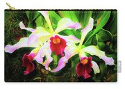 Orchid Flowers Color 1 Carry-all Pouch