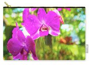 Orchid Oil Painting Carry-all Pouch