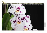 Orchid Phalaenopsis White Flower Carry-all Pouch