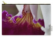Orchid Ruffle Carry-all Pouch