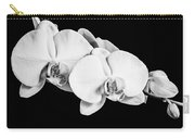 Orchid - Bw Carry-all Pouch