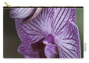 Orchid Strips Carry-all Pouch