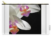 Orchid Underneath Poster Carry-all Pouch