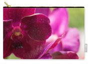 Orchid Vanda Ratchaburi Waxy Red Carry-all Pouch