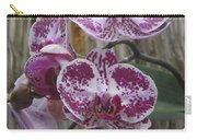 Orchid With Purple Patches Carry-all Pouch