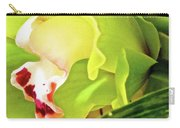 Orchid With Yellow And Green 2 Carry-all Pouch