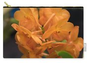 Orchid Yip Sum Wah Orange Carry-all Pouch