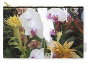 Orchids And Iron Carry-all Pouch