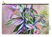 Orchids- Botanicals Carry-all Pouch