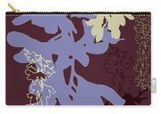 Orchids Cocoa-lavender  Carry-all Pouch
