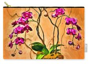Orchids In Basket Carry-all Pouch