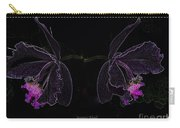 Orchids In Neon Carry-all Pouch