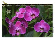Orchids In Vivid Pink  Carry-all Pouch