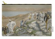 Ordaining Of The Twelve Apostles Carry-all Pouch by Tissot