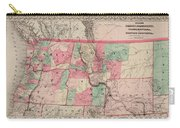 Oregon And Washington Territory Carry-all Pouch