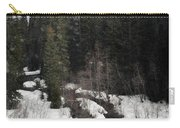 Oregon Cascade Range River Carry-all Pouch
