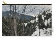 Oregon Cascade Range Trees Carry-all Pouch