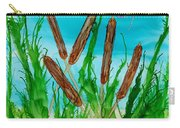 Oregon Cattails Carry-all Pouch