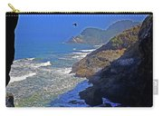 Oregon Coast From Sea Lion Caves Carry-all Pouch