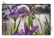 Oregon Iris At The Beach Carry-all Pouch