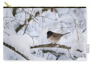Oregon Junko In Snow Carry-all Pouch