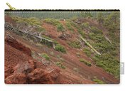 Oregon Landscape - Red Rocks At Lava Butte Carry-all Pouch