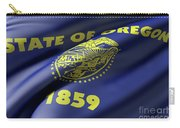 Oregon State Flag Carry-all Pouch