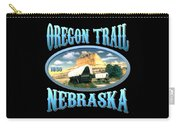 Oregon Trail Nebraska History Design Carry-all Pouch