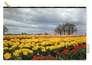 Oregon Tulip Fields 2 Photograph Carry-all Pouch