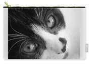 Oreo In Black And White Carry-all Pouch