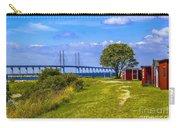 Oresund Bridge With Cabanas Carry-all Pouch
