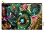Organic Abstract 3 Carry-all Pouch