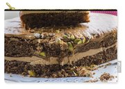 Organic Coffee And Pistachio Cake B Carry-all Pouch