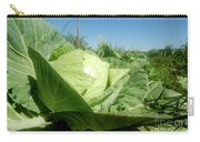 Organic White Cabbage  Carry-all Pouch