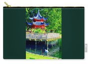 Orient Swan Pagoda Carry-all Pouch
