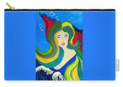 Japanese Mermaid Bubbles  Carry-all Pouch