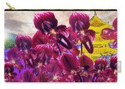 Oriental Orchid Garden Carry-all Pouch
