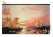 Oriental Sailor Chiefs Gathered For A Meeting On The Shores Of The Black Sea Carry-all Pouch