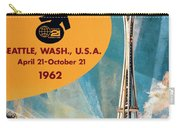Original 1962 Seattle Worlds Fair Promotion Carry-all Pouch